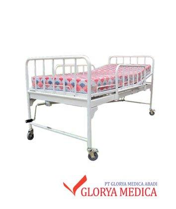 jual tempat tidur pasien manual